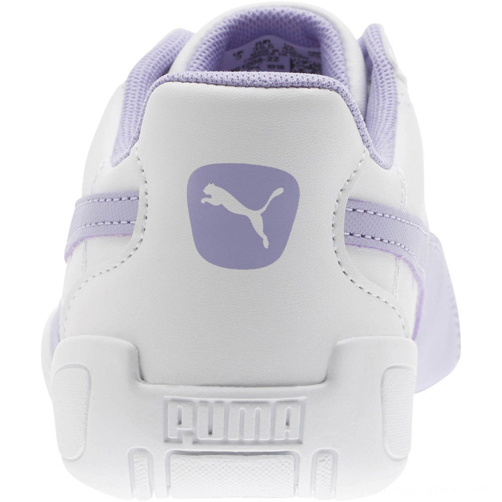 Black Friday 2020 Puma Tune Cat 3 Shoes JR White-Sweet Lavender Outlet Sale