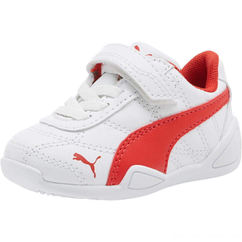 Black Friday 2020 Puma Tune Cat 3 AC Shoes INF White-Flame Scarlet Outlet Sale