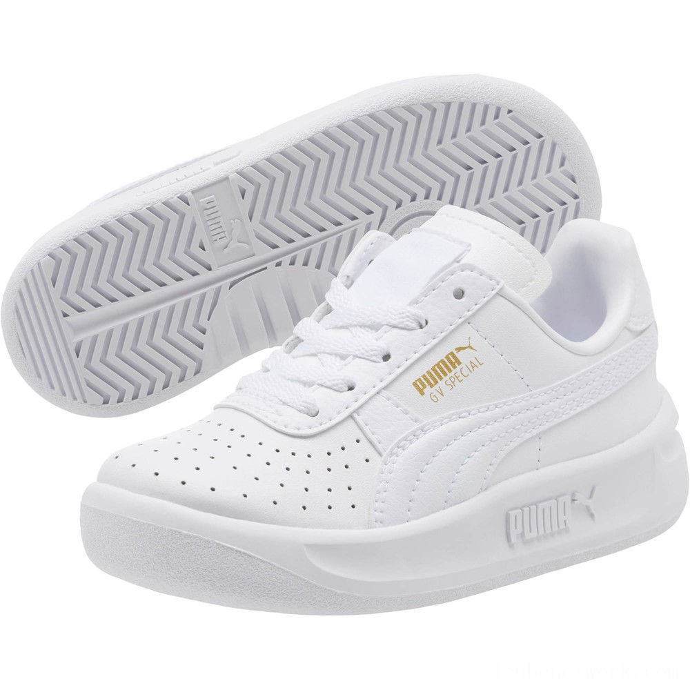 Black Friday 2020 Puma GV Special Sneakers PS White- Team Gold Outlet Sale