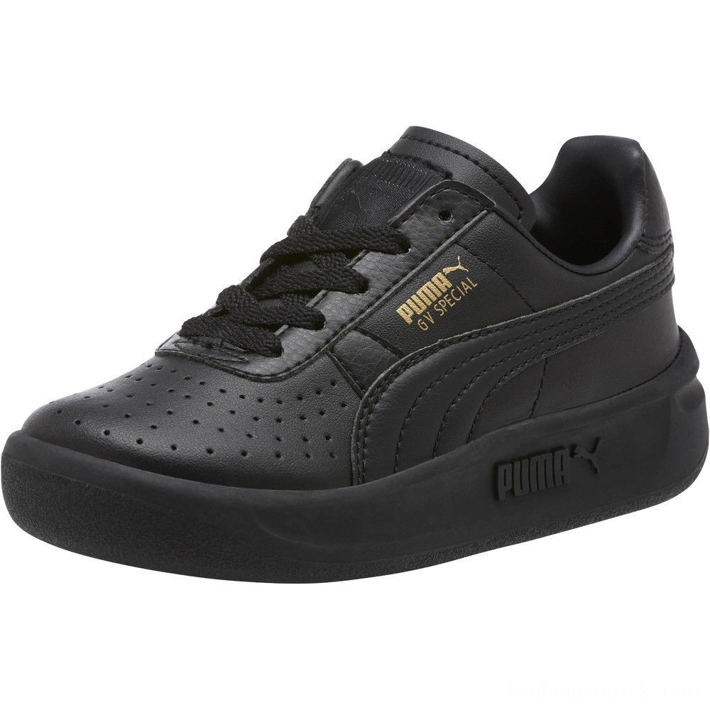 Black Friday 2020 Puma GV Special Sneakers PS Black- Team Gold Outlet Sale