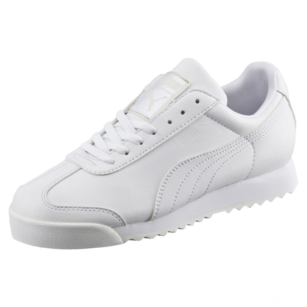 Puma Roma Basic Sneakers PS White-Gray Violet Outlet Sale