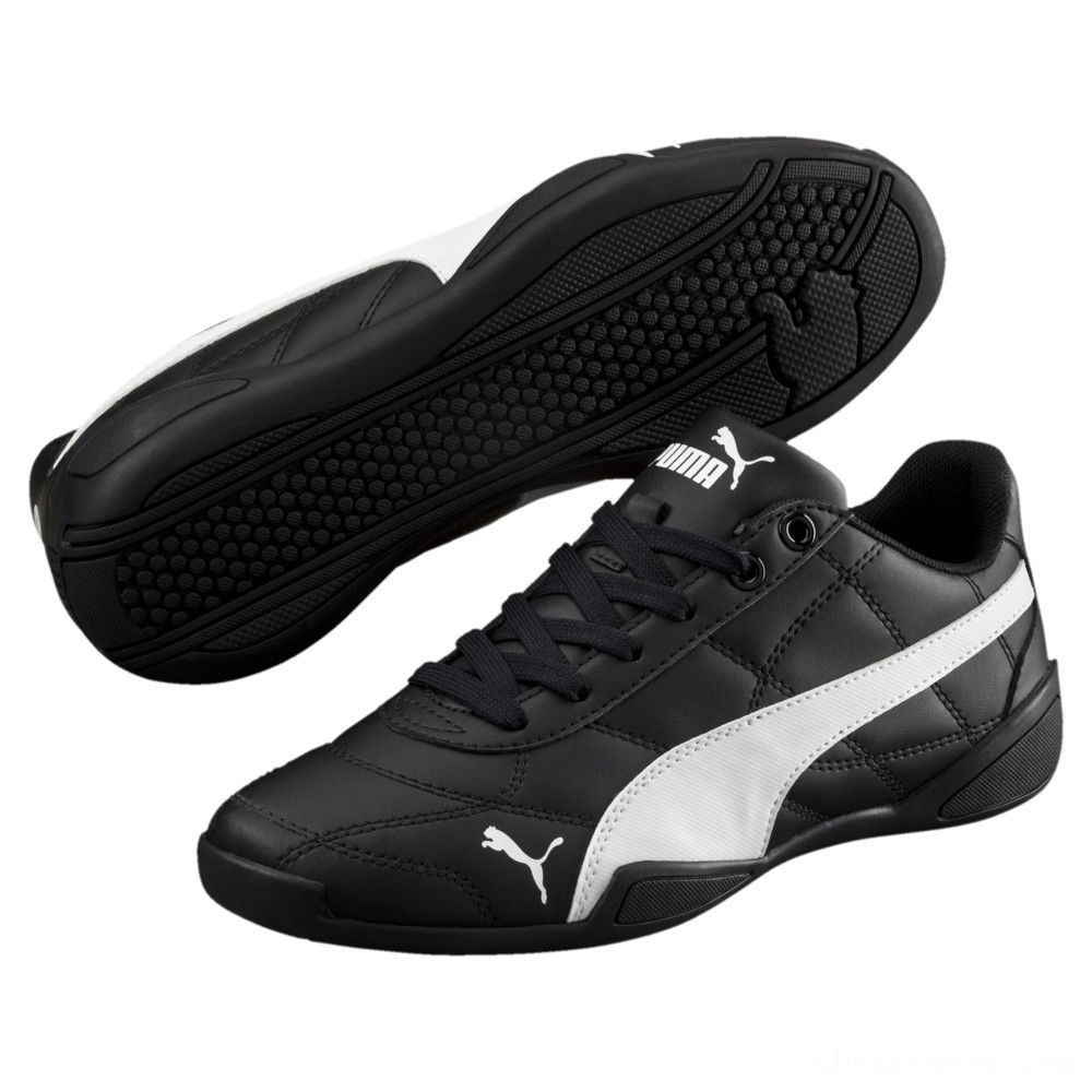 Black Friday 2020 Puma Tune Cat 3 Shoes PS Black- White Outlet Sale