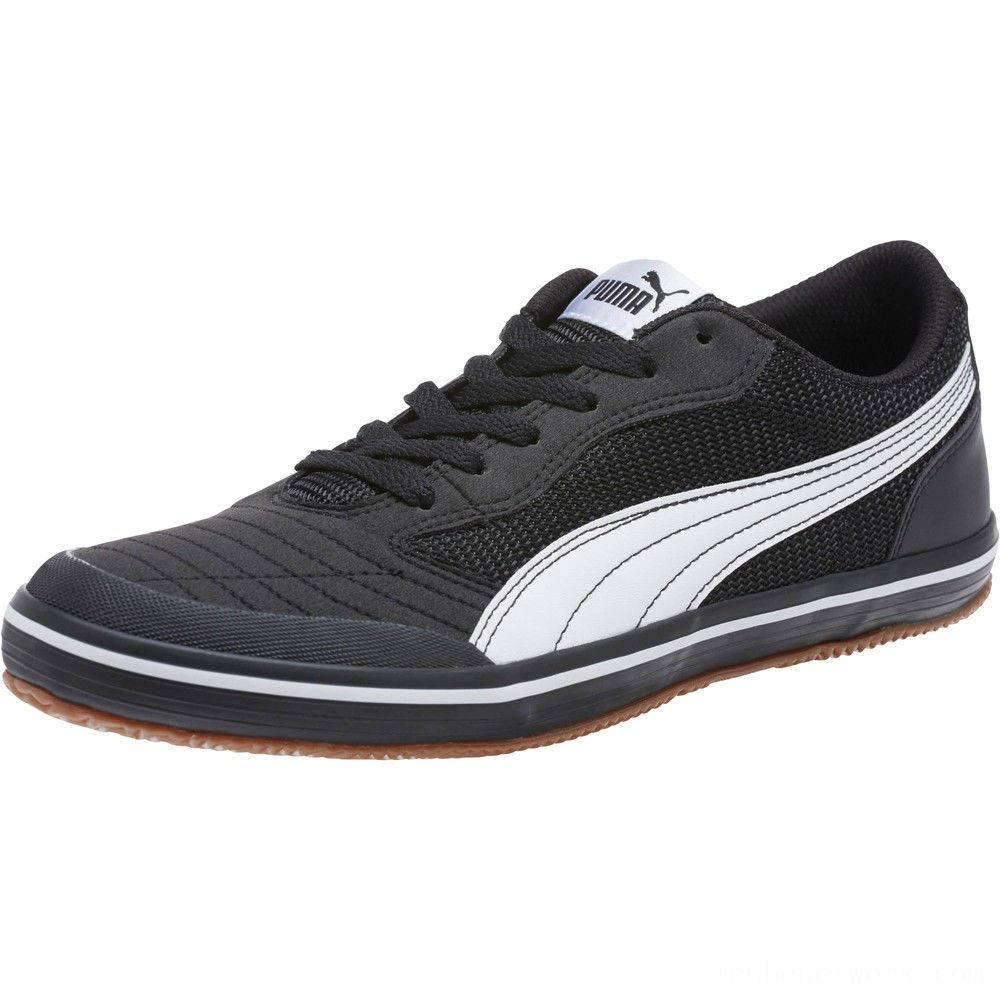 Black Friday 2020 Puma Astro Sala Men's Sneakers Black- White Outlet Sale
