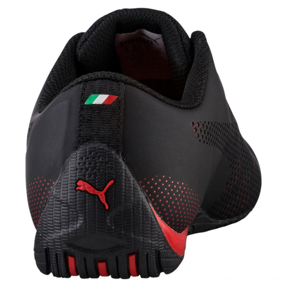 Puma Scuderia Ferrari Drift Cat 5 Ultra Sneakers JR Black-Rosso Corsa Outlet Sale