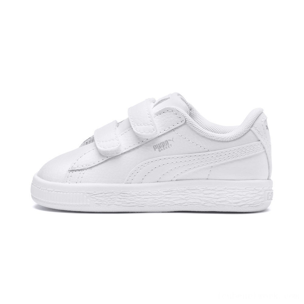 Black Friday 2020 Puma Basket Classic Baby Sneakers White- White Outlet Sale