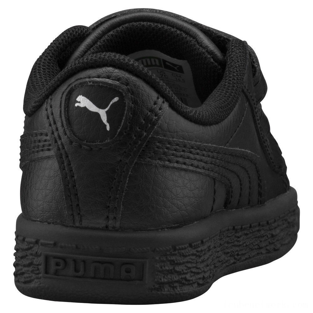 Black Friday 2020 Puma Basket Classic Baby Sneakers Black- Black Outlet Sale