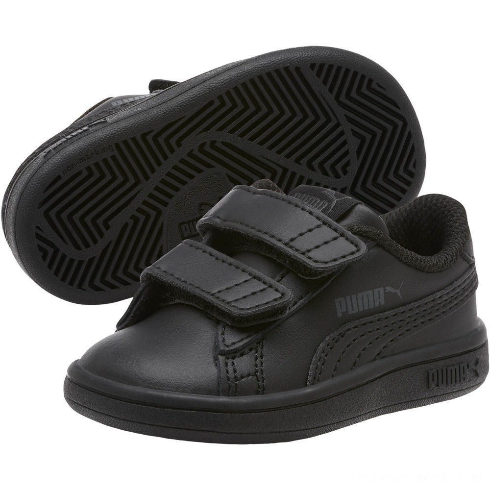 Black Friday 2020 Puma Puma Smash v2 L V Infant Sneakers Black- Black Outlet Sale