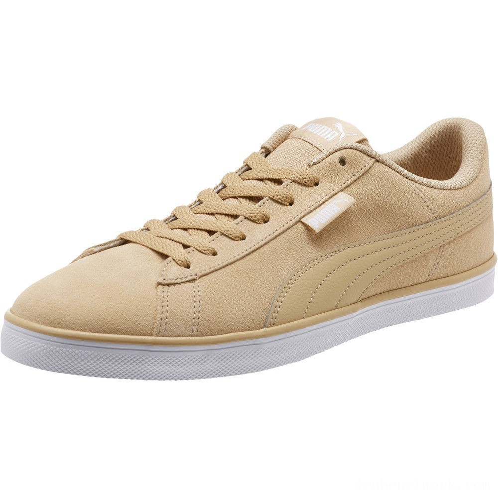Black Friday 2020 Puma Urban Plus Suede Sneakers Taos Taupe-Taos Taupe Outlet Sale