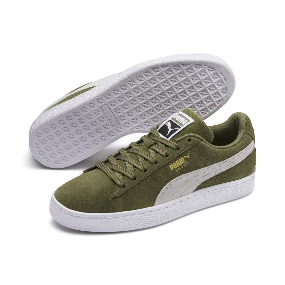 Puma Suede Classic Sneakers Olivine- Black Outlet Sale