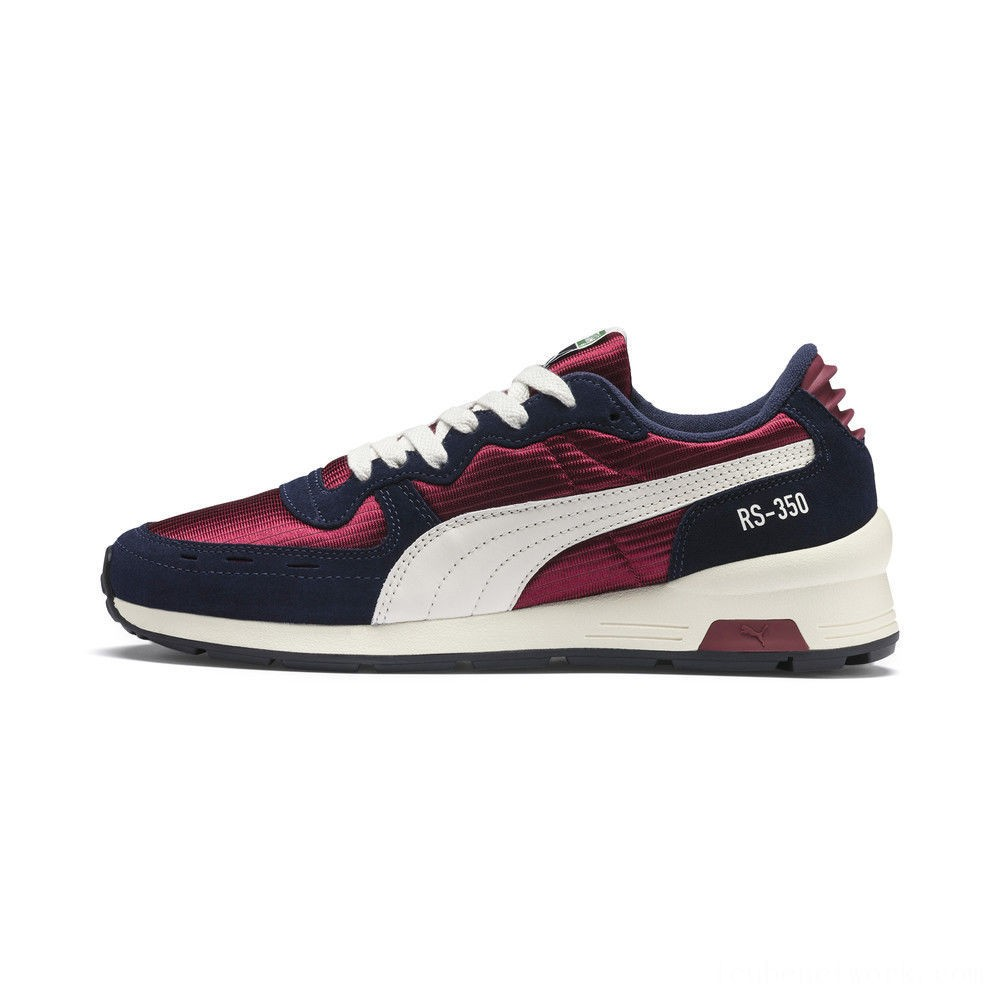 Black Friday 2020 Puma RS-350 OG Men's Sneakers Cordovan-Peacoat Outlet Sale