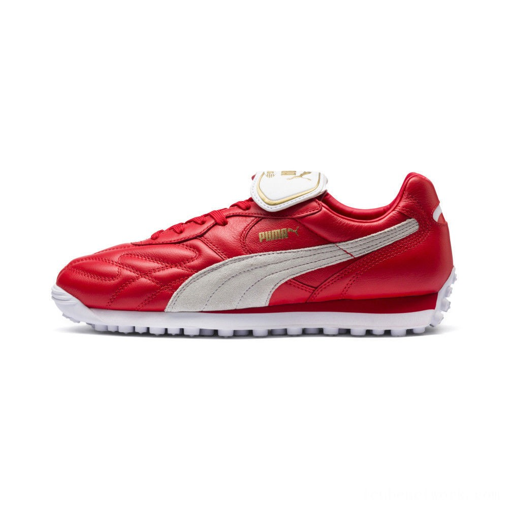 Black Friday 2020 Puma King Avanti Legends Pack Sneakers Red- White Outlet Sale
