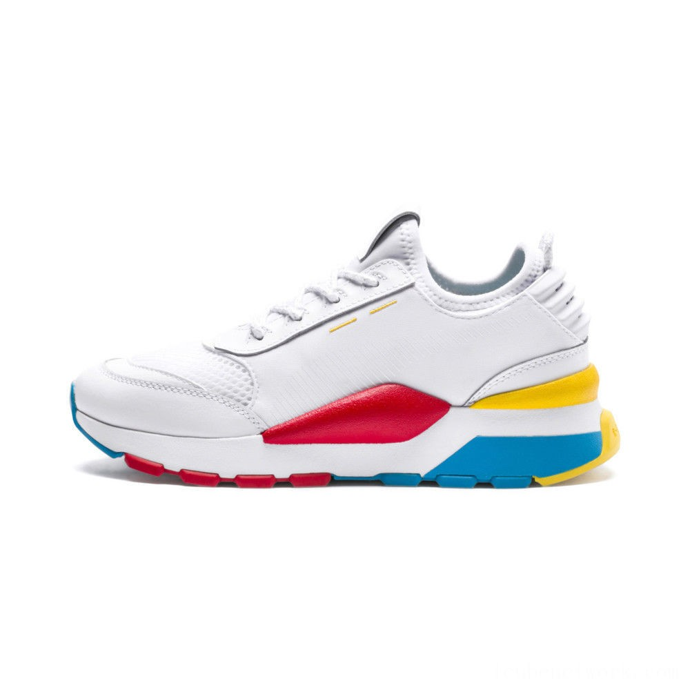 Black Friday 2020 Puma RS-0 Play JR Sneakers White- White-White Outlet Sale