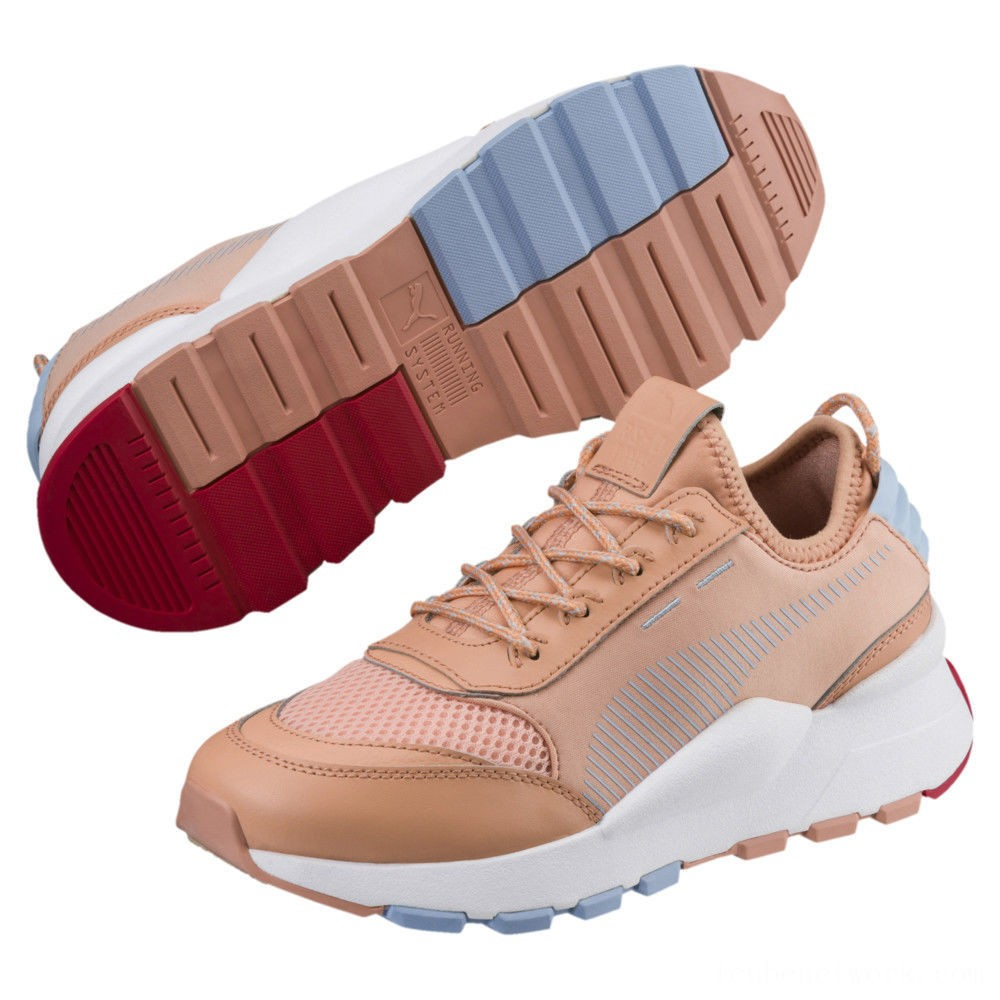 Puma RS-0 Play Preschool Sneakers DCoral-DCoral- White Outlet Sale