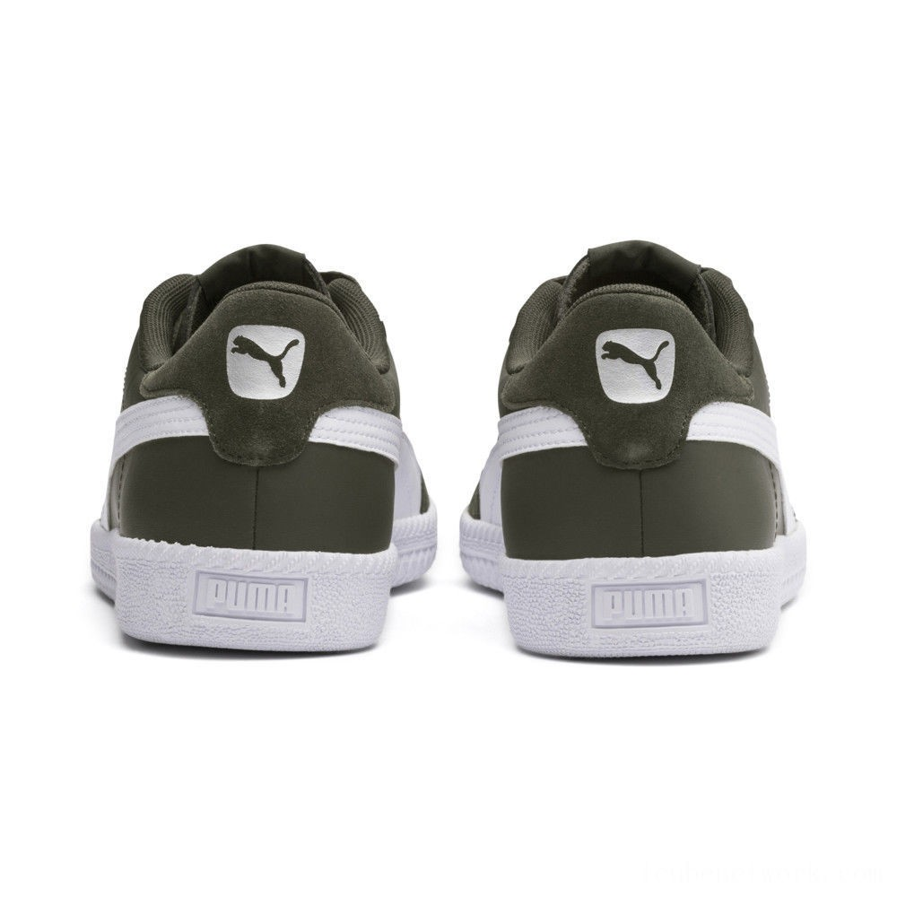 Puma Astro Cup SLForest Night- White Outlet Sale