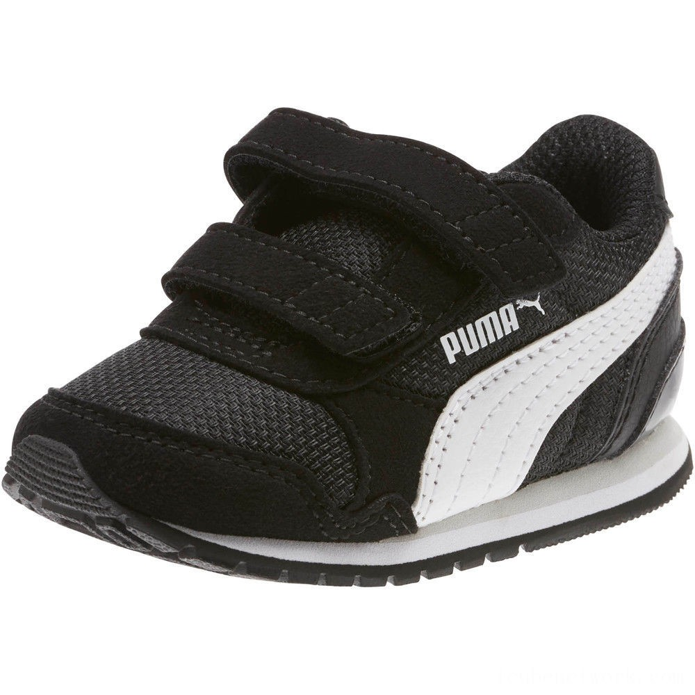 Puma ST Runner v2 Mesh AC Sneakers INF Black- White Outlet Sale