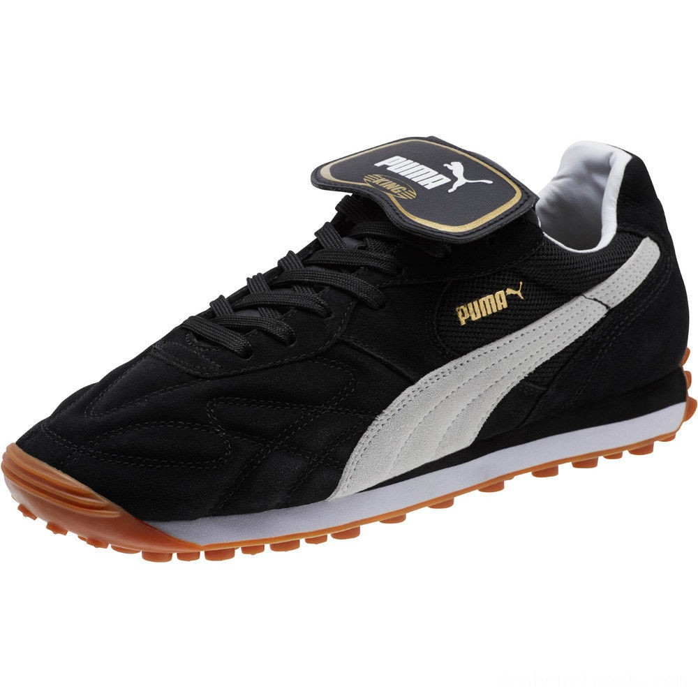 Black Friday 2020 Puma King Avanti Soccer Cleats Black- White Outlet Sale