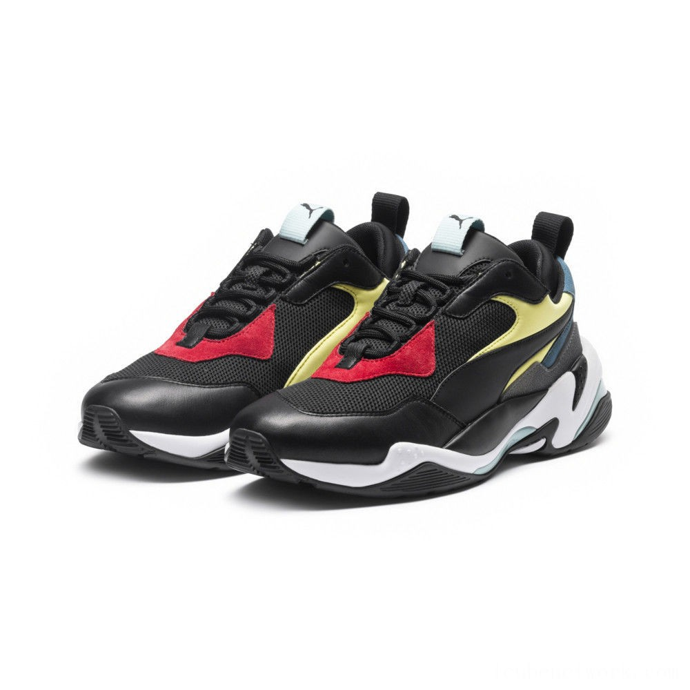 Puma Thunder Spectra Men's Sneakers Blk- Blk- White Outlet Sale