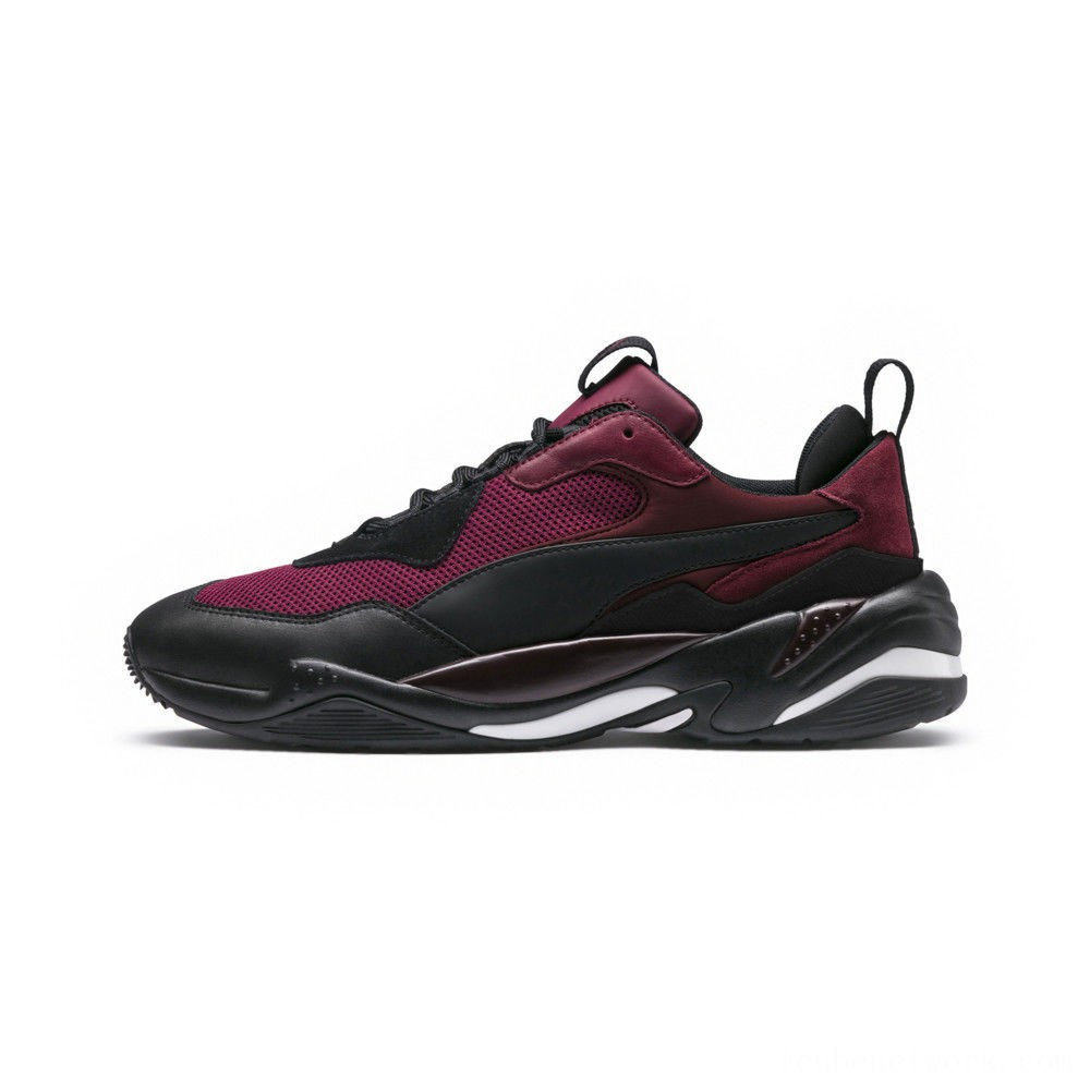 Puma Thunder Spectra Men's Sneakers Rhododendron-P Black-T Port Outlet Sale