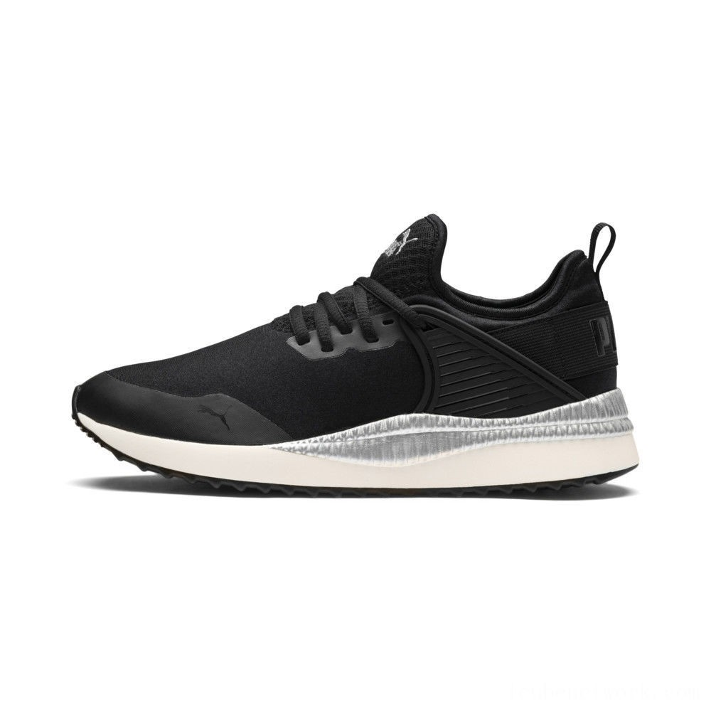 Black Friday 2020 Puma Pacer Next Cage ST2 Women's Sneakers P Black-Black-Whisper White Outlet Sale