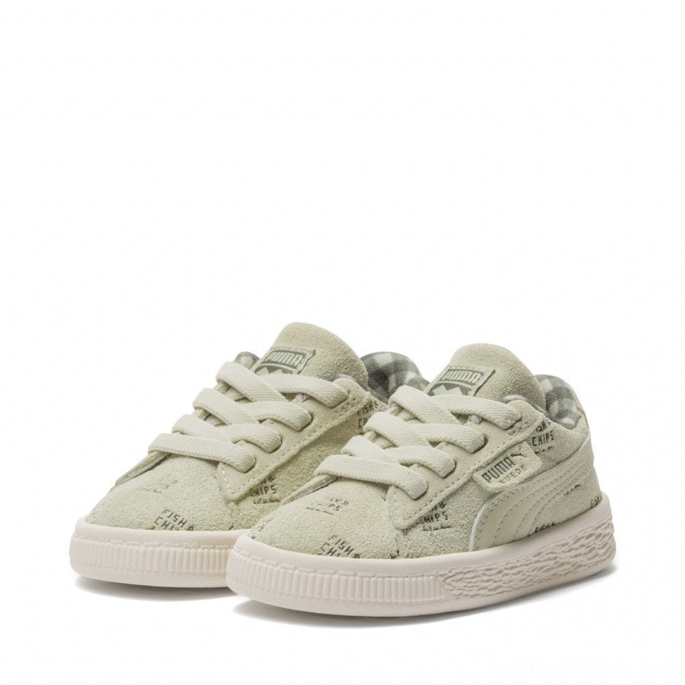 Black Friday 2020 Puma PUMA X TINYCOTTONS Suede INFAlfalfa-Thyme-Birch Outlet Sale