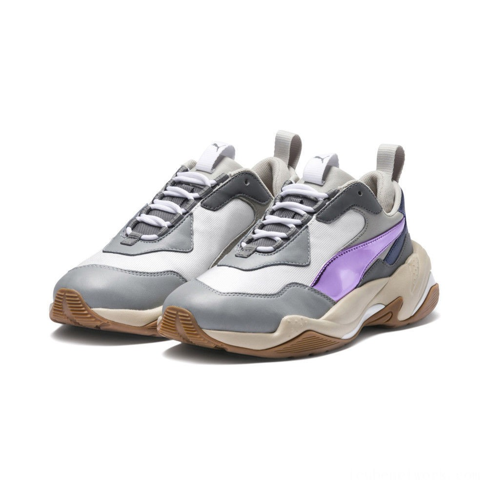Black Friday 2020 Puma Thunder Electric Women's Sneakers White-Pink Lavender-Cement Outlet Sale