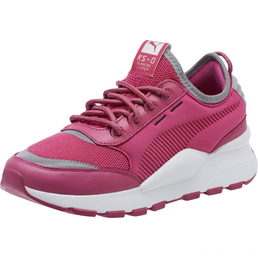 Black Friday 2020 Puma RS-0 Optic Pop Women's Sneakers Magenta- White Outlet Sale
