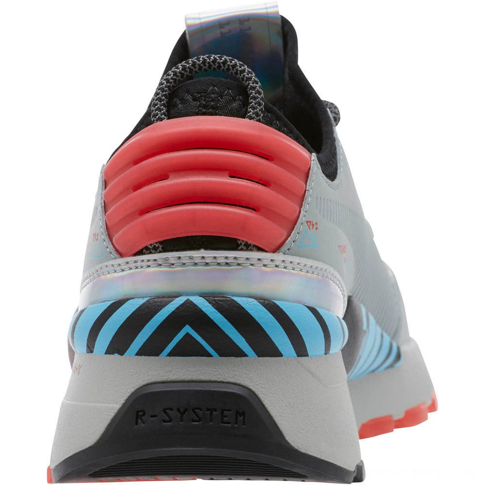 Black Friday 2020 Puma RS-0 Ai Circuit Board Sneakers Quarry-Black- Red Outlet Sale
