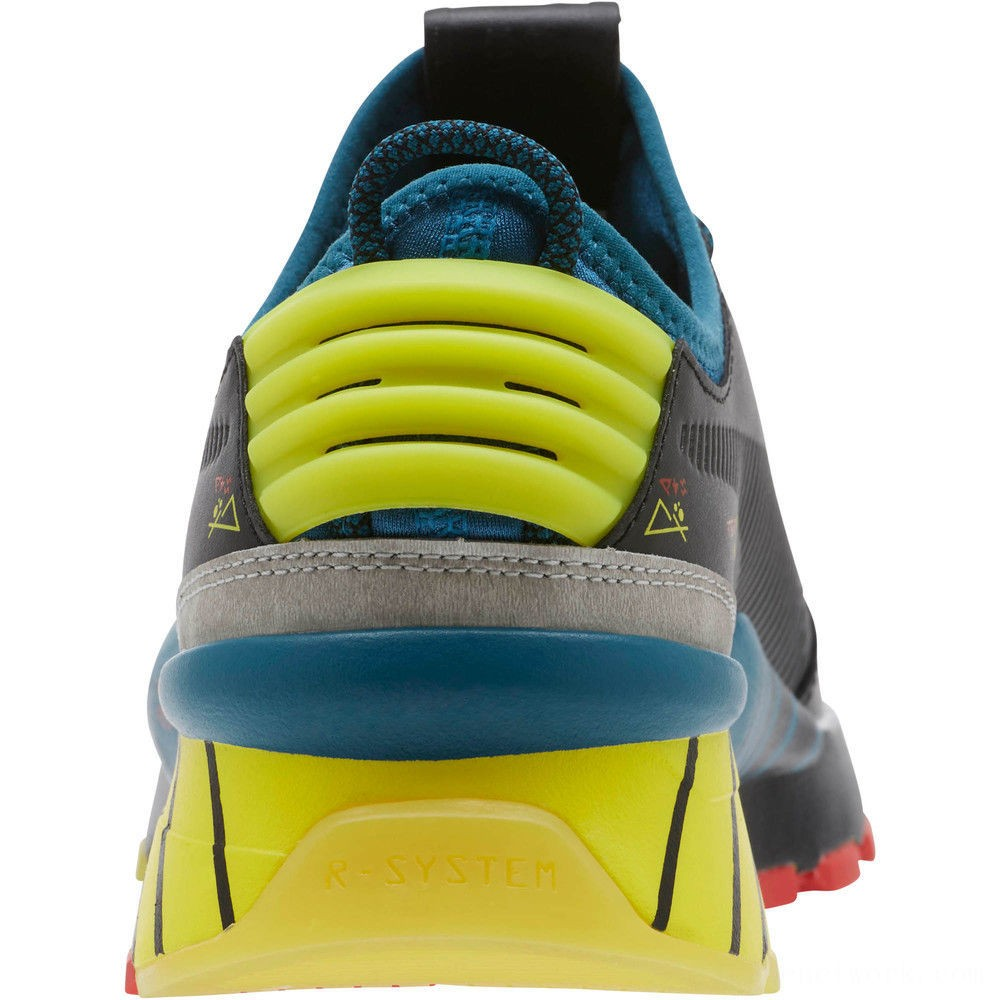 Black Friday 2020 Puma RS-0 Ai Droid Sneakers Black-Corsair-Nrgy Yellow Outlet Sale