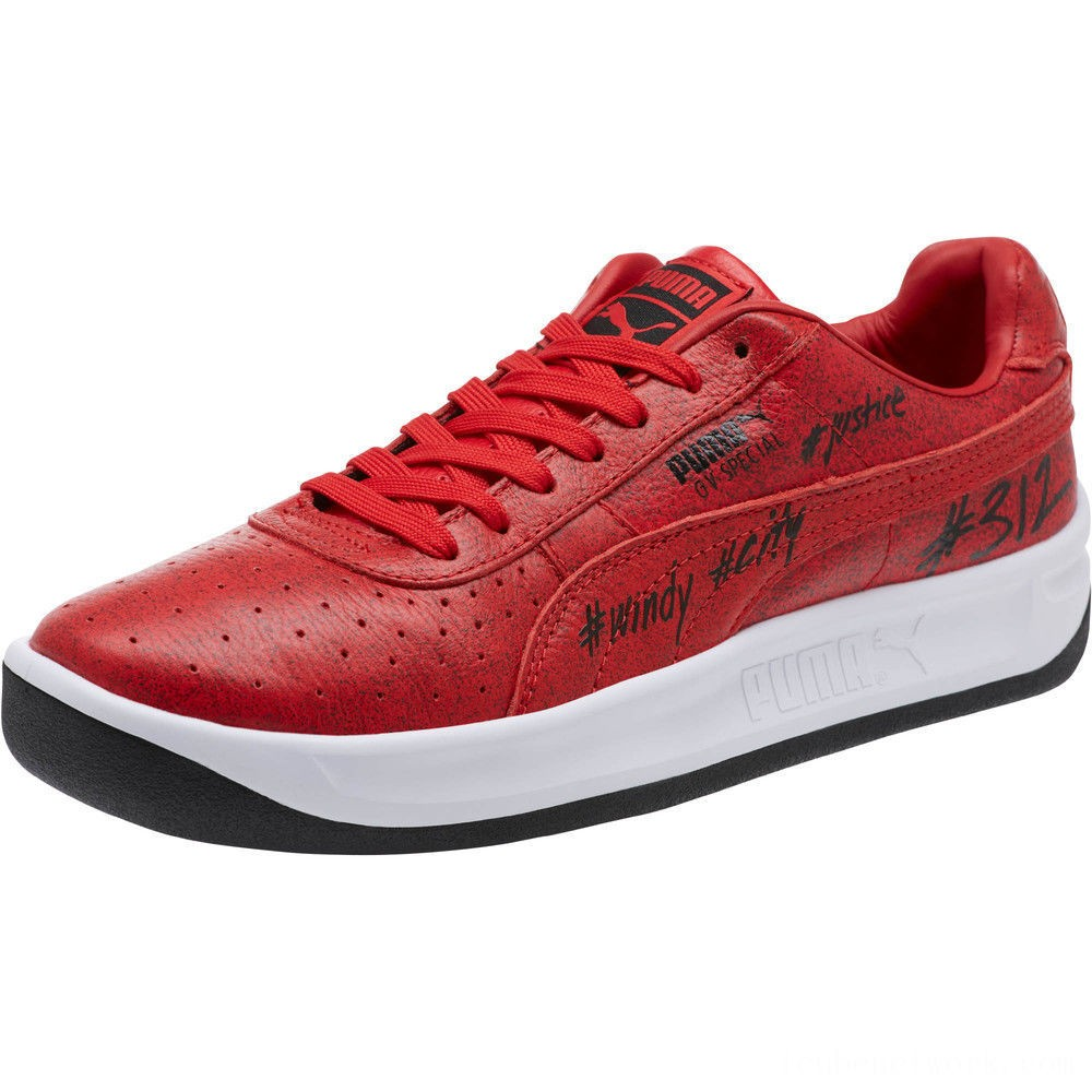 Black Friday 2020 Puma GV Special Chicago Sneakers Hgh Rk Rd-Pma Blk-Pma Wht Outlet Sale