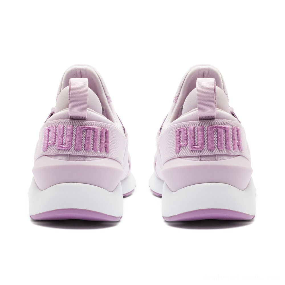 Black Friday 2020 Puma Muse Satin II Women's Sneakers Winsome Orchid-Smoky Grape Outlet Sale