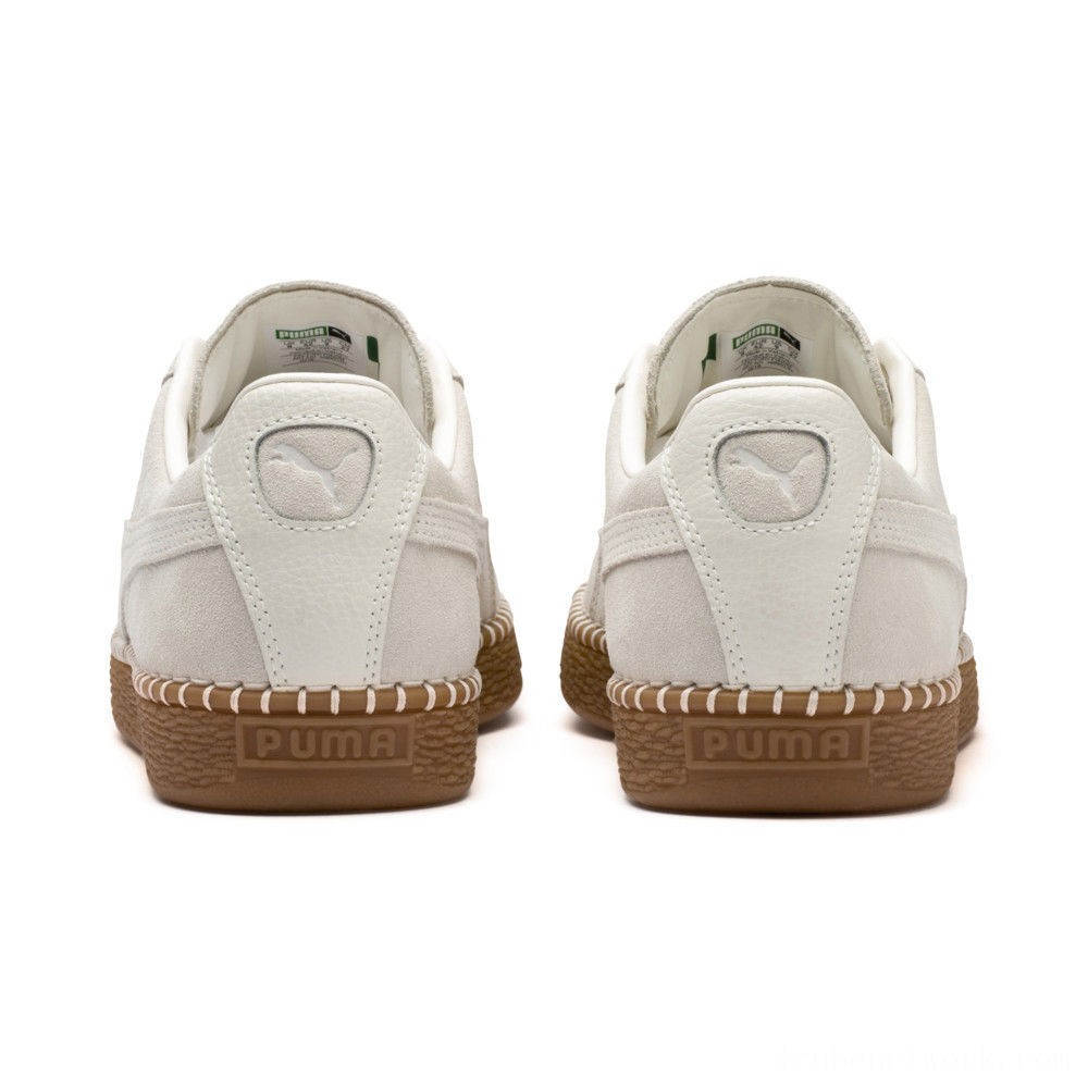 Black Friday 2020 Puma Suede Classic Blanket Stitch Sneakers Whisper White-Gum Outlet Sale