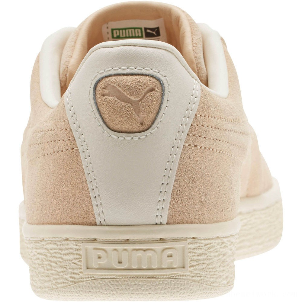 Puma Suede Classic Raised Formstrip Sneakers Natural Vachetta-Whisper w Outlet Sale