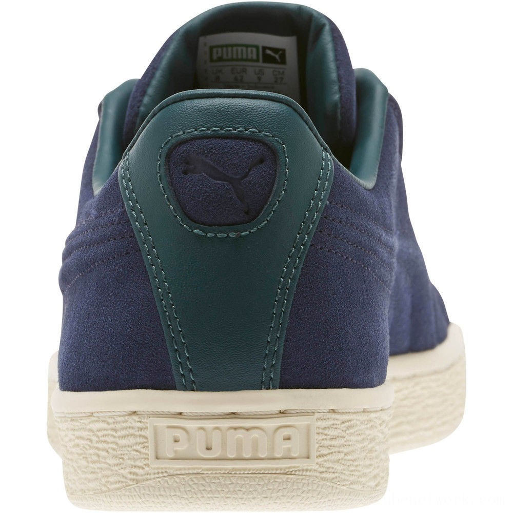 Black Friday 2020 Puma Suede Classic Raised Formstrip Sneakers Peacoat-Ponderosa Pine Outlet Sale