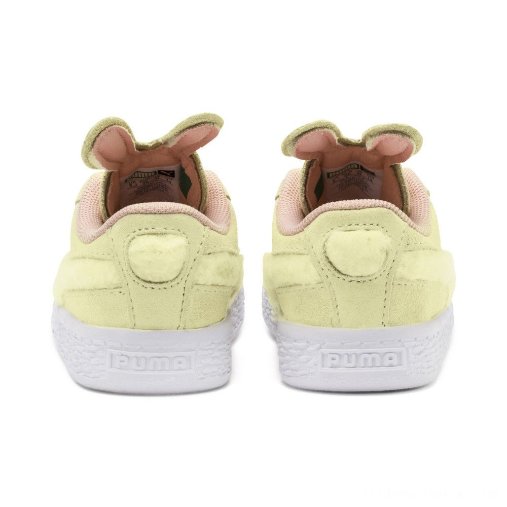 Black Friday 2020 Puma Suede Easter AC Sneakers INFYELLOW-Coral Cloud-Gold Outlet Sale