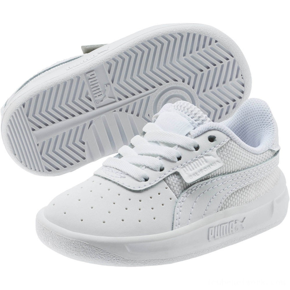 Puma California Sneakers INFP White-P White- White Outlet Sale