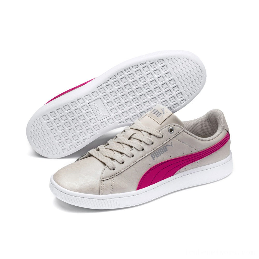 Puma PUMA Vikky v2 Summer Women's Sneakers Silver Gray-F Purple-Silver Outlet Sale