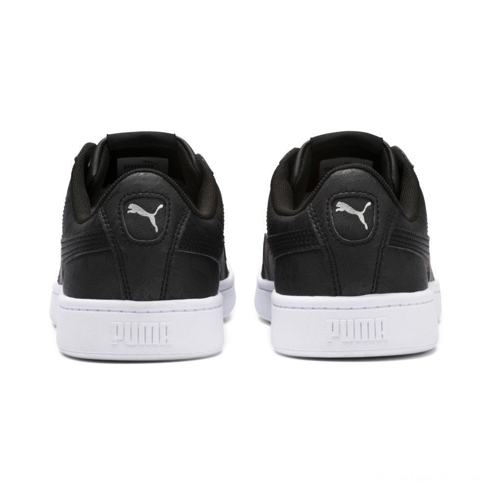 Black Friday 2020 Puma PUMA Vikky v2 Summer Women's Sneakers Black-Silver- White Outlet Sale