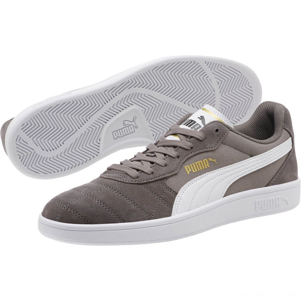 Puma Astro KickCharcoal Gray- White Outlet Sale