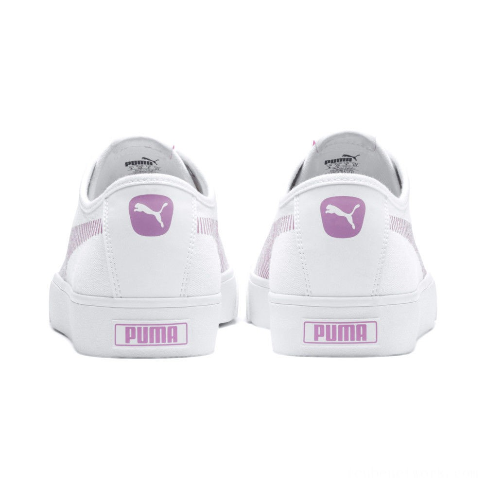 Puma Bari Sneakers White-Pale Pink Outlet Sale