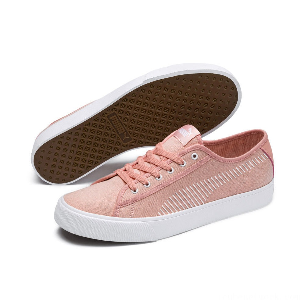 Puma Bari Sneakers Peach Bud- White Outlet Sale