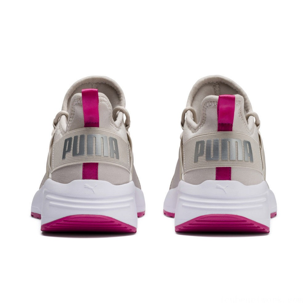 Puma Sirena Summer Women's Sneakers Silver Gray- White Outlet Sale