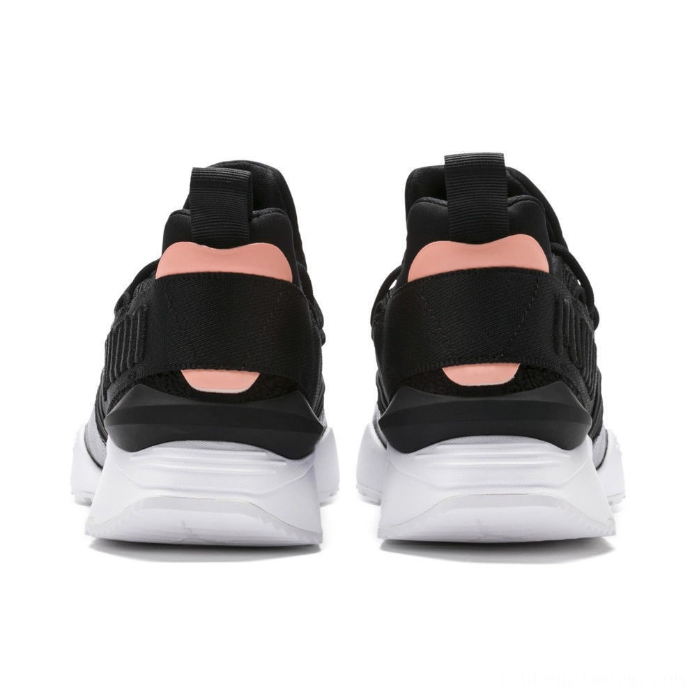 Puma Muse Maia Bio Hacking Women's Sneakers Black-Bright Peach Outlet Sale