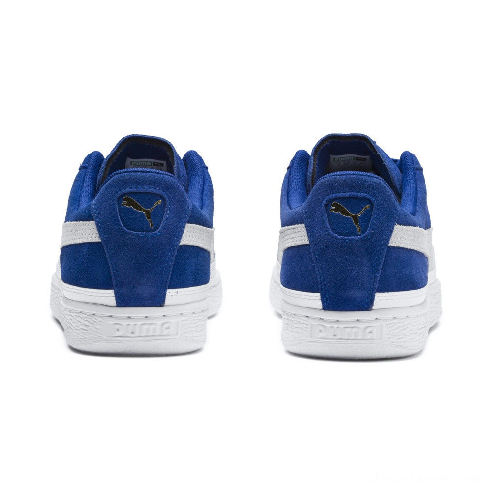 Black Friday 2020 Puma Suede Skate Sneakers Surf The Web- White Outlet Sale