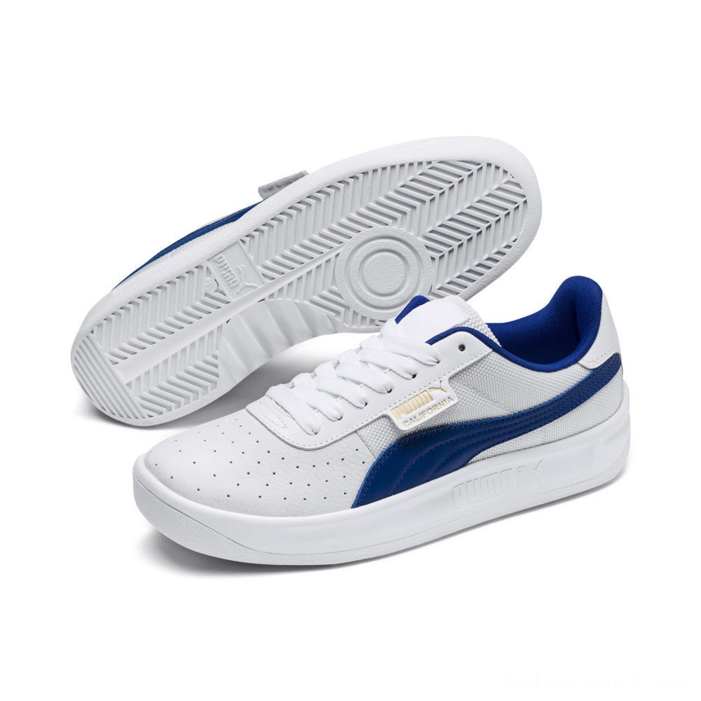 Black Friday 2020 Puma California Sneakers White-Surf D Web-P Wht Outlet Sale