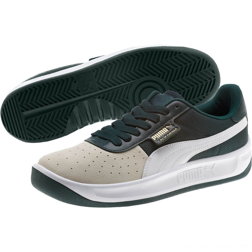 Black Friday 2020 Puma California Sneakers WhsprWht-PonderosaPin-PumWht Outlet Sale