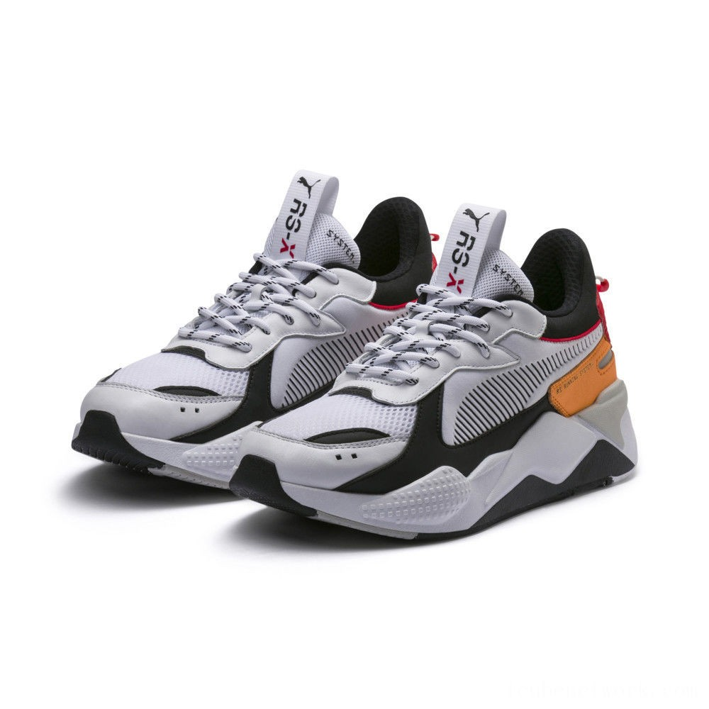 Black Friday 2020 Puma RS-X Tracks White- Black Outlet Sale