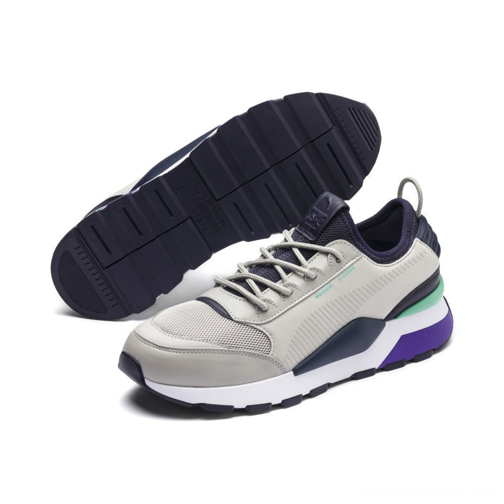 Puma RS-0 TracksGray Violet- New Navy Outlet Sale