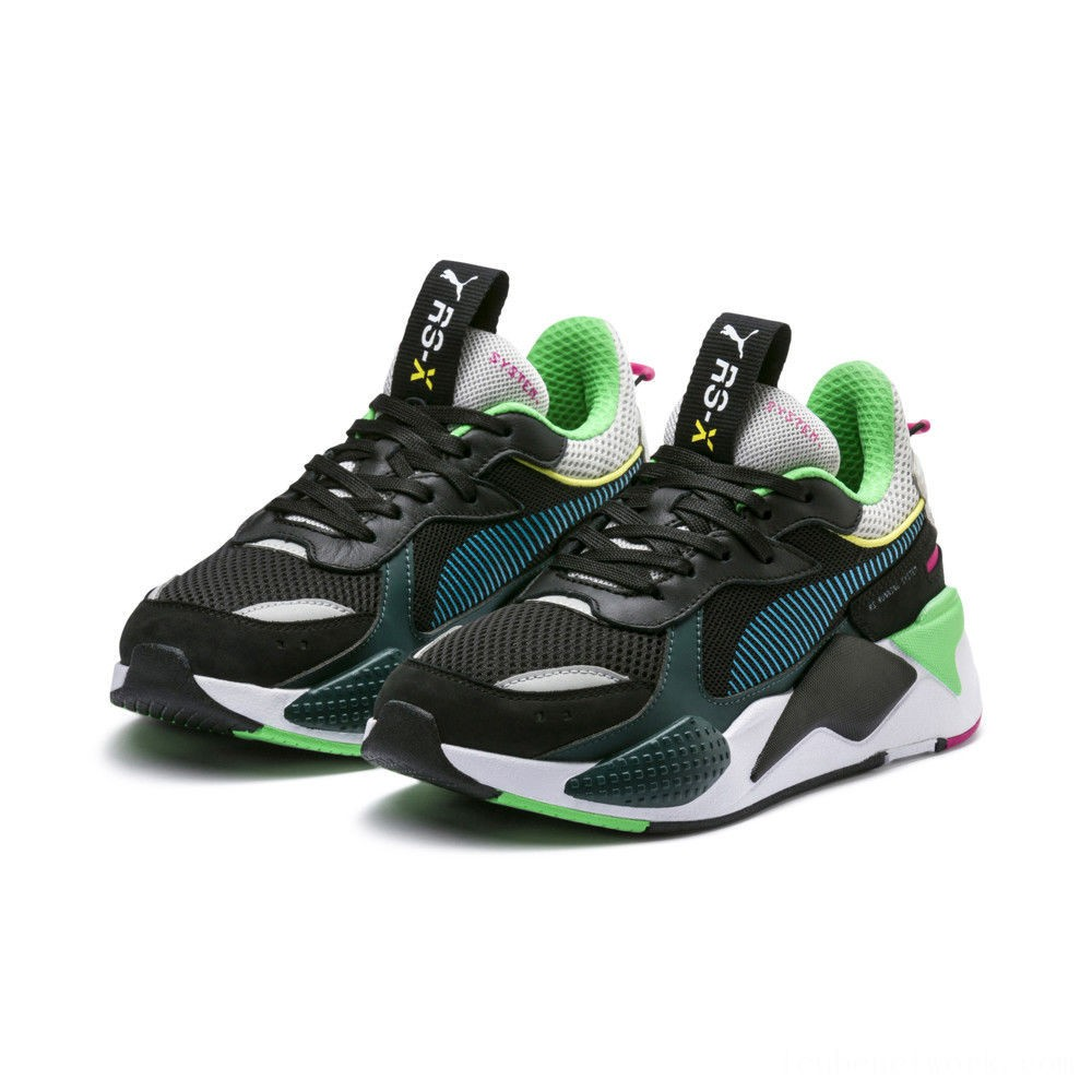 Puma RS-X Toys Black-Blue Atoll Outlet Sale