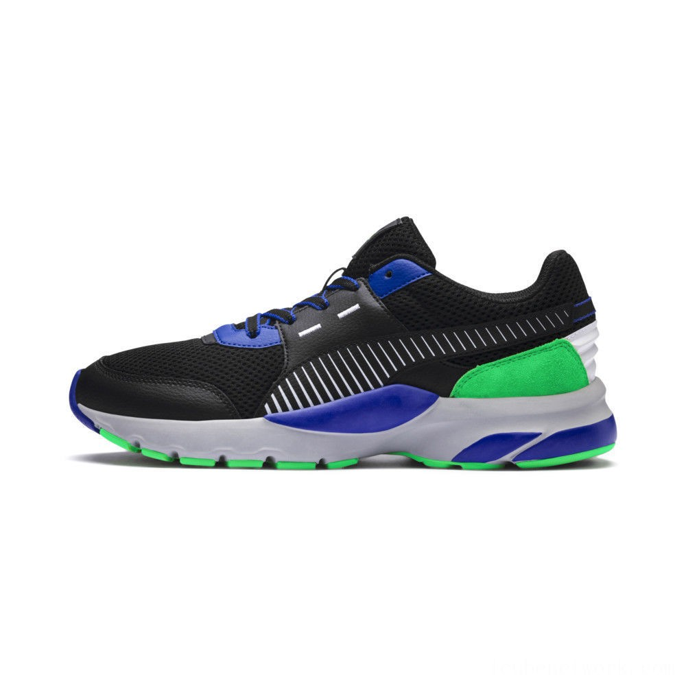 Puma Future Runner Premium Sneakers Black-Surf The Web Outlet Sale