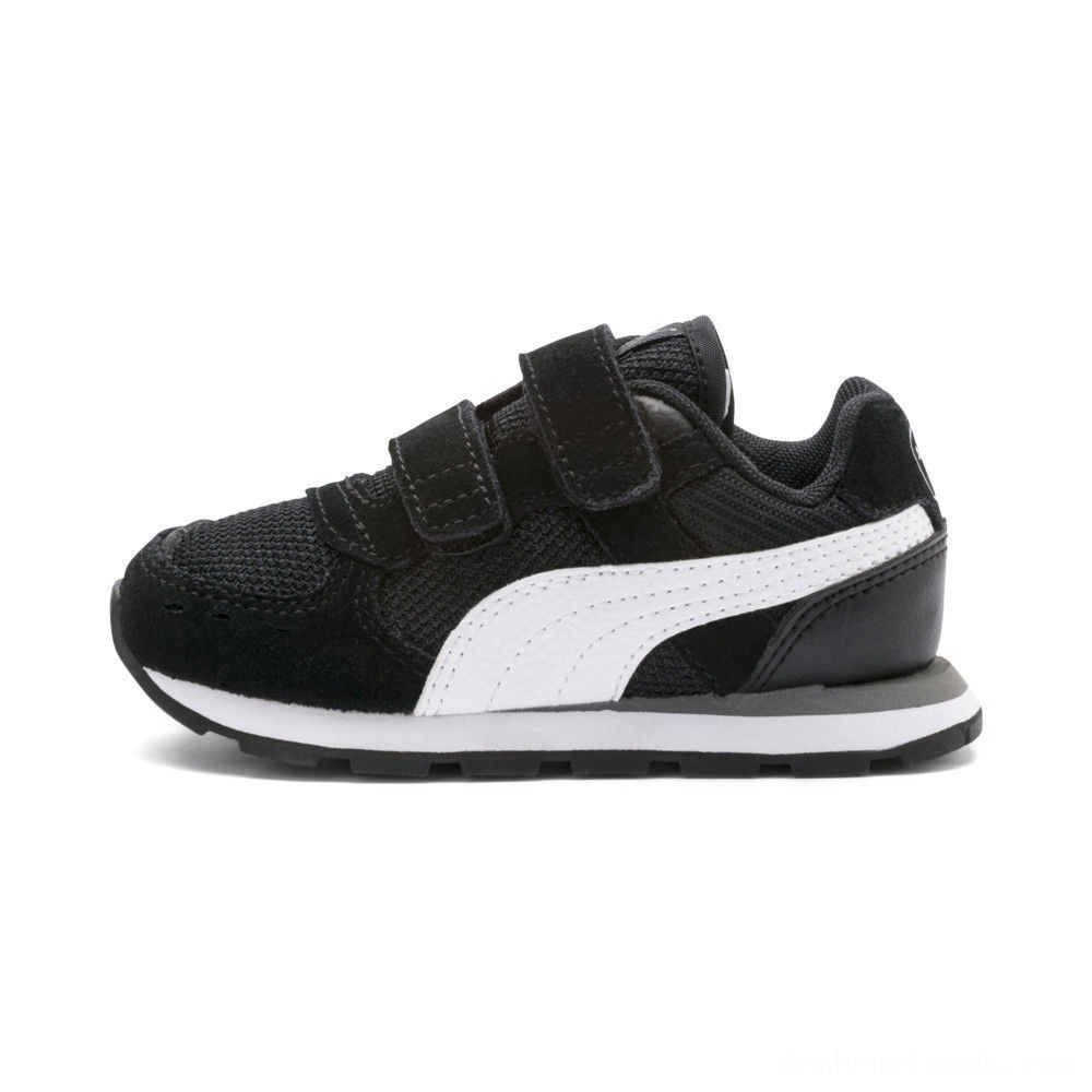 Puma Vista Sneakers INF Black- White Outlet Sale
